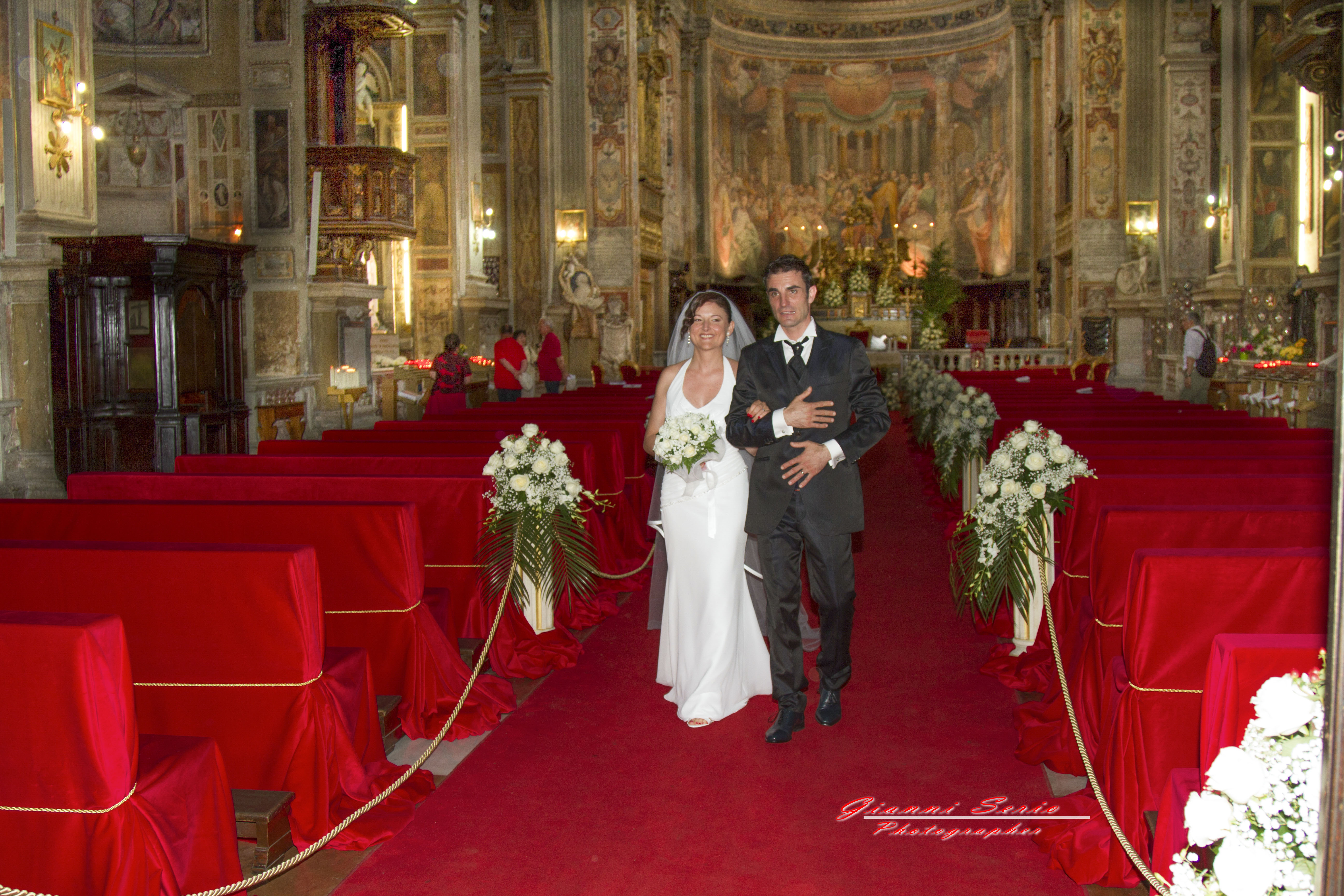 Matrimonio in chiesa di Santo Spirito in Sassia a Roma.